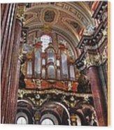 Interior St Stanislaus Church - Posnan Wood Print