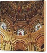 Interiors Of A Cathedral, St. Finbarrs Wood Print