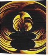 Internal Flame Wood Print