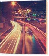 Interstate I-240 Wood Print