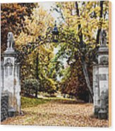 Inver House - Radnor Pa Wood Print