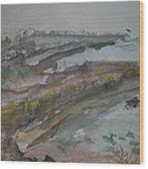 Inverness Shoreline Wood Print