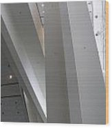 Inverted Escalator Wood Print
