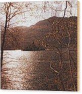 Inveruglas Isle Wood Print