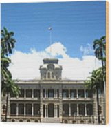 Iolani Palace - No. 003 Wood Print