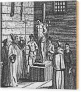 Ipswich Martyr, 1555 Wood Print by Granger