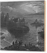 Ireland: Ballyshannon Wood Print