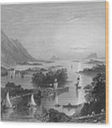 Ireland: Clew Bay, C1840 Wood Print