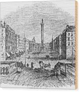 Ireland: Dublin, 1843 Wood Print