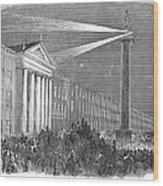 Ireland: Dublin, 1849 Wood Print
