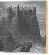 Ireland: Dunluce Castle Wood Print
