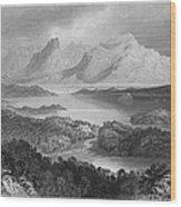 Ireland: Garromin Lake Wood Print