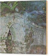 Ireland Ghostly Grave Wood Print