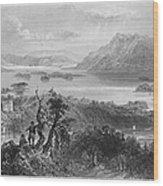 Ireland: Lough Gill, C1840 Wood Print