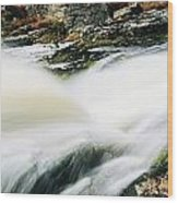 Ireland Waterfall Wood Print