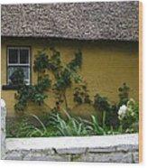 Irish Cottage Wood Print