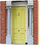 Irish Door Five Wood Print