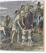 Irish Great Potato Famine Wood Print