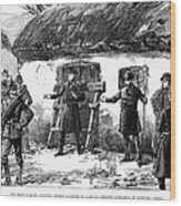 Irish Land League, 1887 Wood Print