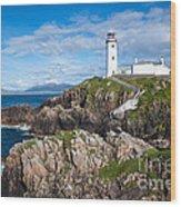 Irish Lighthouse Wood Print
