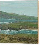 Irish Sea Coast 3 Wood Print