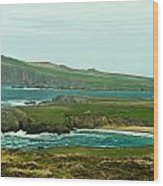 Irish Sea Coast 4 Wood Print