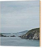 Irish Sea Coast 5 Wood Print