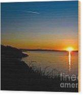 Irish Sunset Wood Print