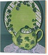 Irish Tea Wood Print