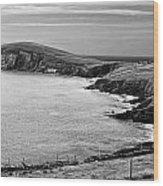 Irish Western Coast Wood Print