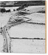 Irish Winding Road Wood Print