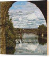 Iron Bridge Centenial Trail Wood Print