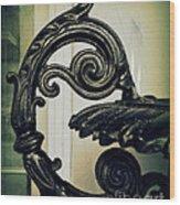 Iron Details Wood Print