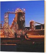 Iron Duke Mine Wood Print by David Barringhaus