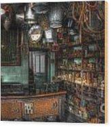 Ironmonger's Shop Wood Print