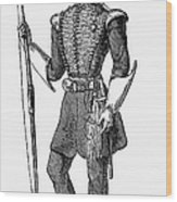 Irvine Toxophilite, 1846 Wood Print