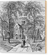 Irving: Sunnyside Wood Print
