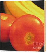 Is A Tomato A Fruit Or A Vegetable Wood Print