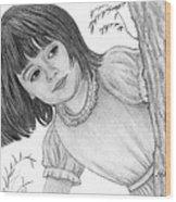 Is It Alice Wood Print