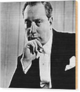 Isaac Stern 1920-2001, Violinist Wood Print