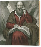 Isaiah, Old Testament Prophet Wood Print