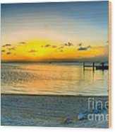 Islamorado Keys Florida Wood Print