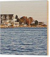 Island Heights Wood Print