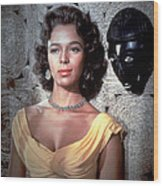 Island In The Sun, Dorothy Dandridge Wood Print