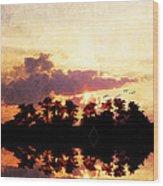 Islands In The Sky Wood Print