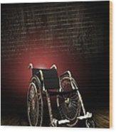 Isolation Through Disability, Artwork Wood Print