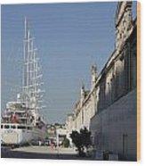 Istanbul Cruise Ship Terminal Wood Print
