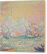 Istanbul Wood Print by Paul Signac