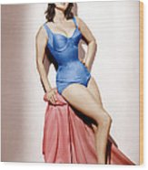 It Started In Naples, Sophia Loren, 1960 Wood Print by Everett