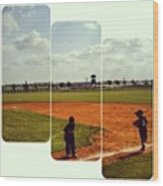It Was A Great Day For Tball... #sports Wood Print
